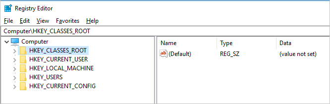 Expand Registry Keys