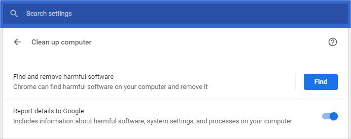 Find Malware