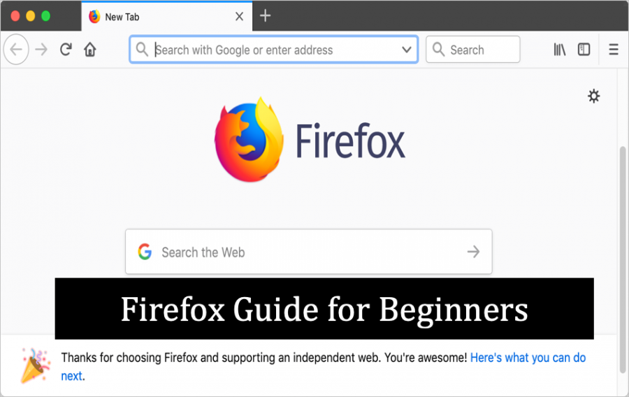Firefox Guide for Beginners