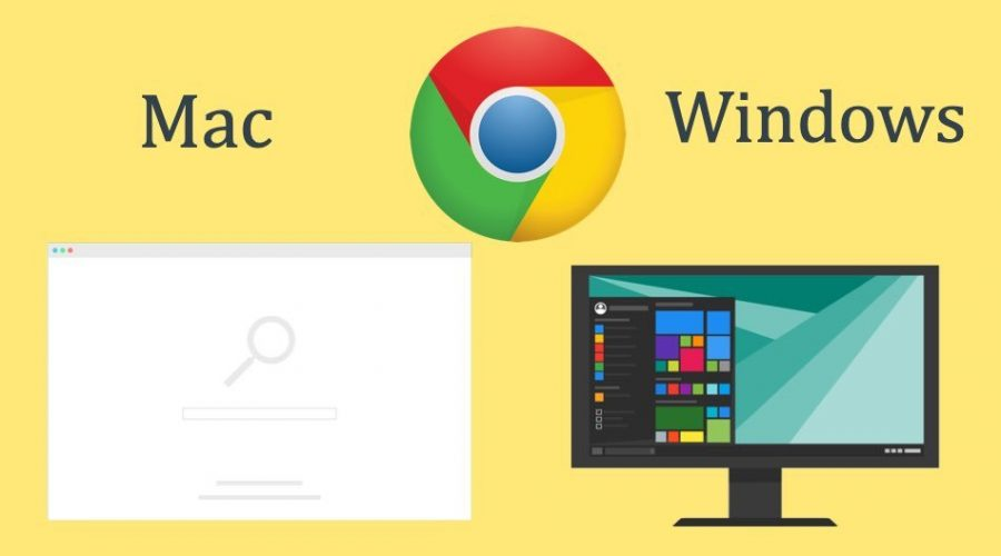 Comparison of Google Chrome Windows Vs Mac Versions