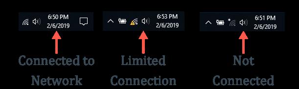 Network Icon Status