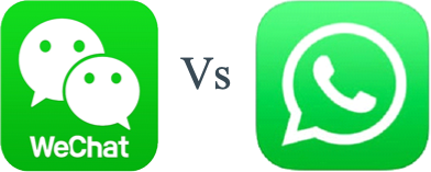 WeChat Vs WhatsApp