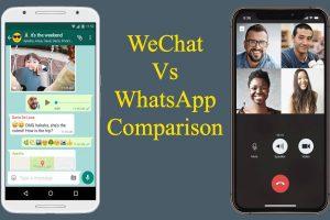 WeChat Vs WhatsApp Comparison