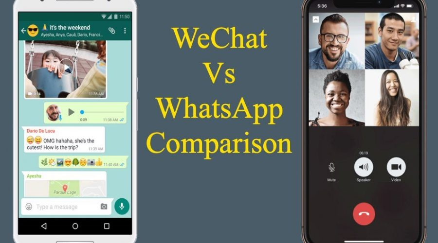 WeChat Vs WhatsApp Comparison