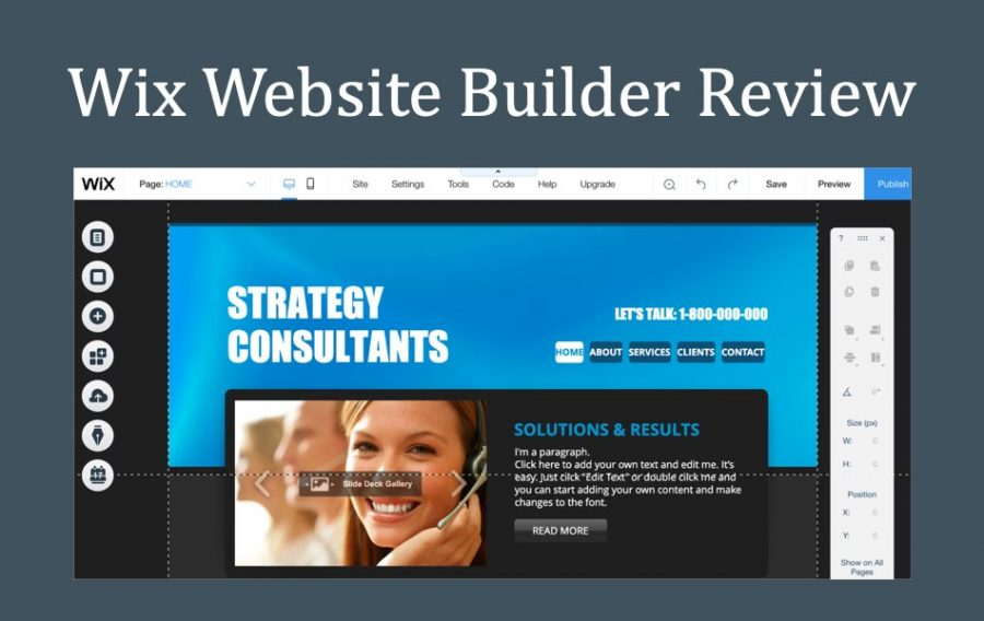 Genuine Review of Wix Website Builder