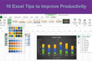 10 Excel Tips to Improve Productivity