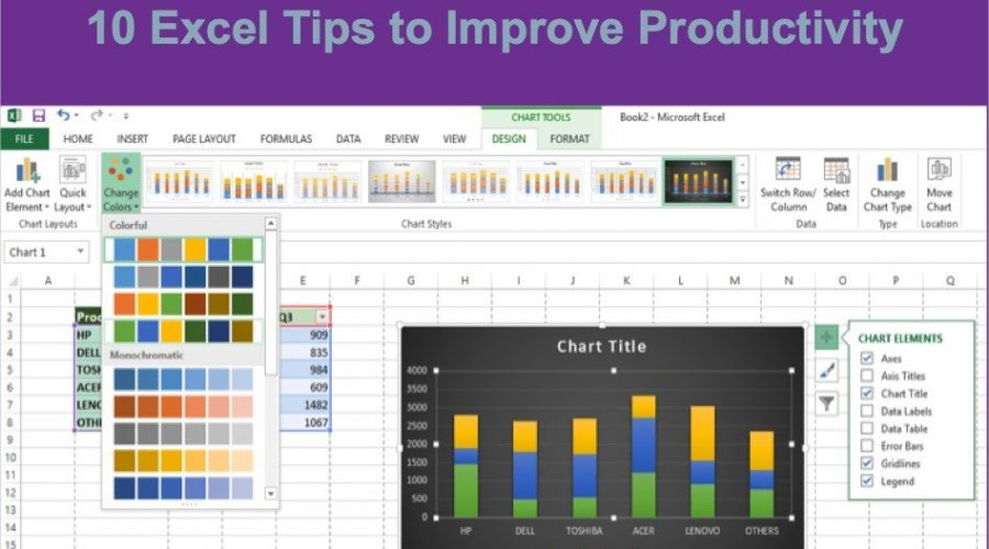 10 Excel Tips to Improve Your Productivity