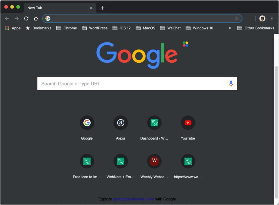 Chrome Mac Dark Mode