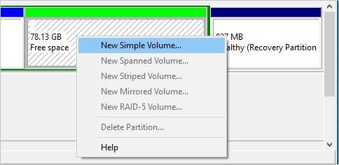 Create Simple Volume