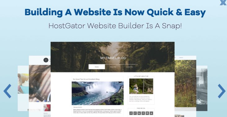 HostGator Free Website Builder