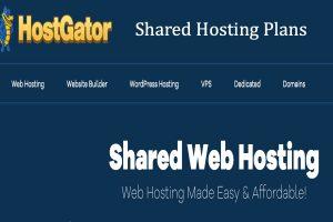 HostGator Shared Hosting Plans Review