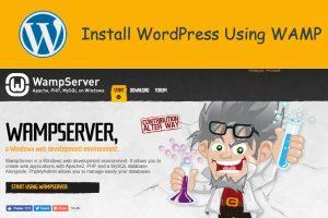Install WordPress Using WAMP