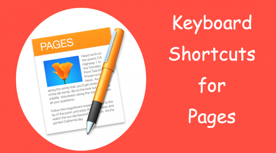 Pages Keyboard Shortcuts for Mac