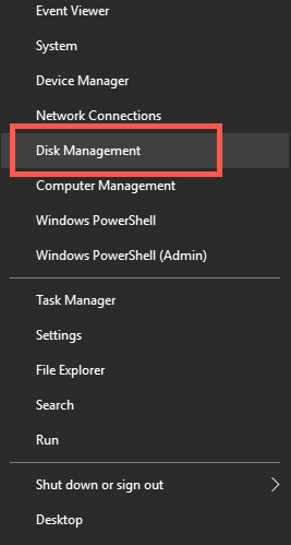 Open Disk Manager