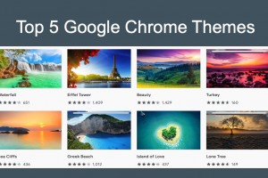Top 5 Google Chrome Themes
