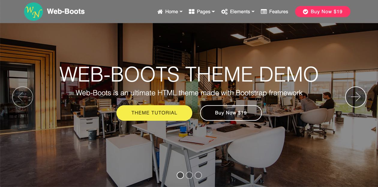 Web-Boots Theme Tutorial