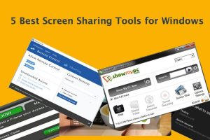 5 Best Screen Sharing Tools for Windows