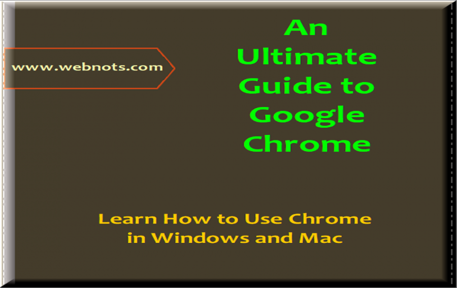 Beginners Guide to Google Chrome Browser