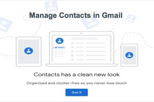 Download and Upload Contacts from Gmail