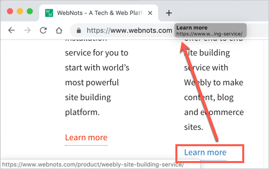 Drag and Drop Links in Chrome