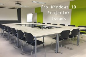 Fix Windows 10 Projector Issue