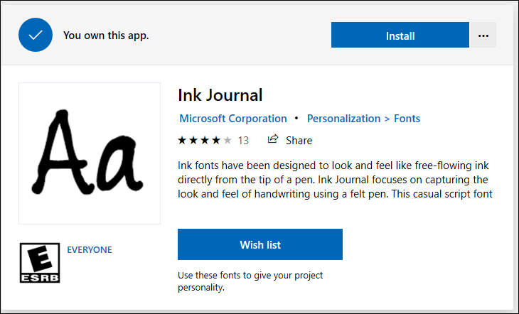 How to Install and Use Fonts in Windows 10? » WebNots