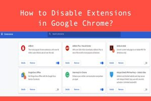 How to Disable Extensions in Google Chrome?
