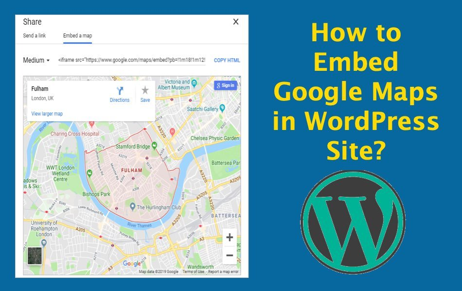 How to Embed Google Maps in WordPress Site?