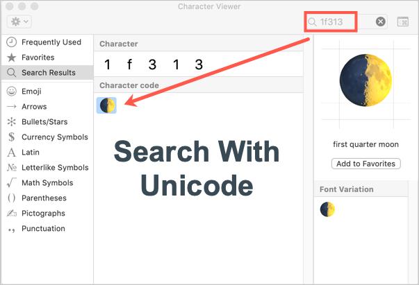 How to Use Unicode Hex Input Method in Mac? » WebNots