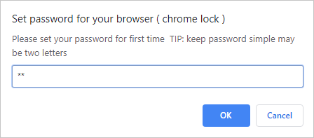 Setting Password