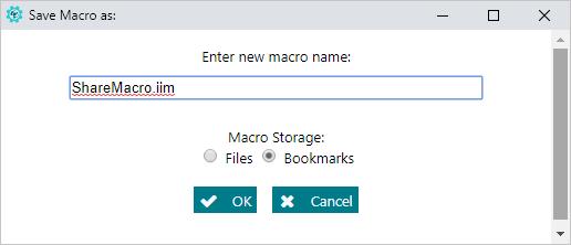 Sharing Macros