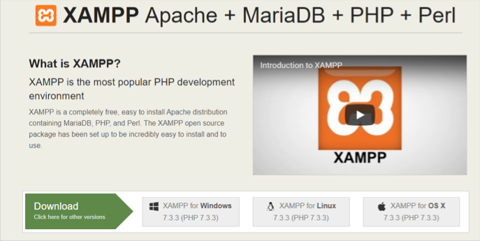 Download wordpress xampp