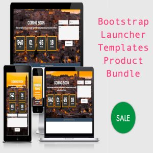 Bootstrap Launcher Templates Product Bundle
