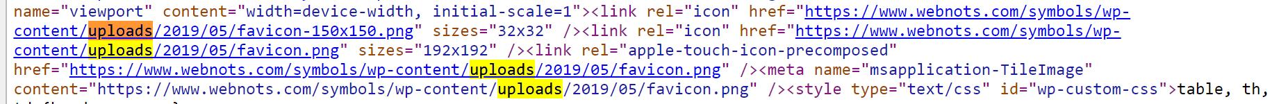 Check Favicon File Path in WordPress