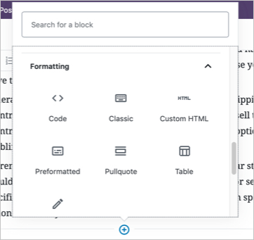Custom HTML Block in WordPress