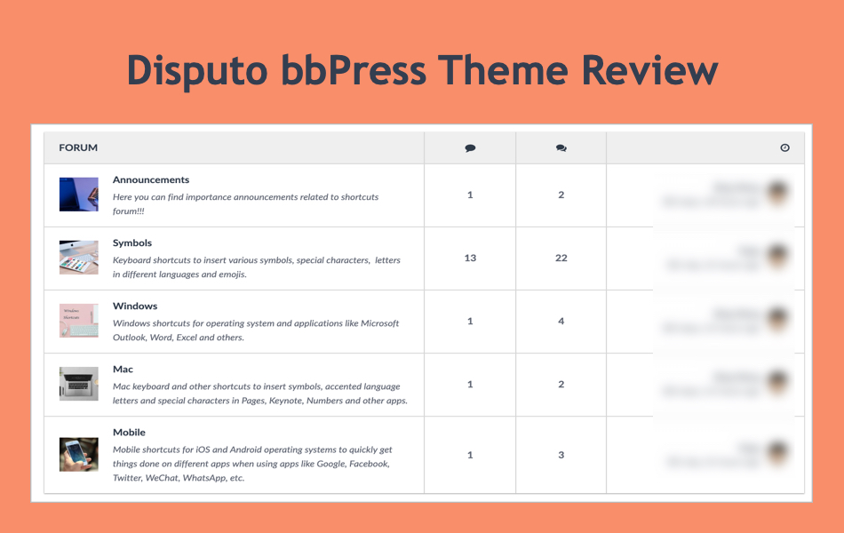 Disputo bbPress Theme Review