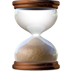 Hourglass Apple Emoji