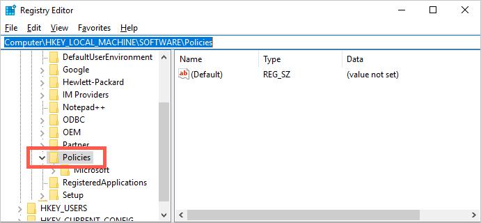 Microsoft Policies