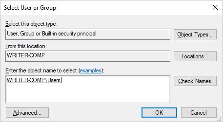 Select Users