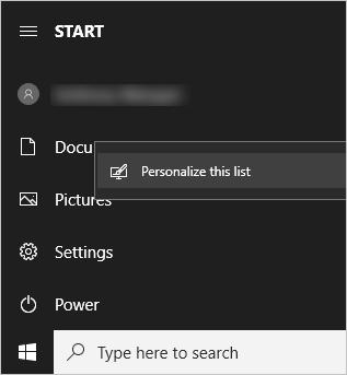 Start Folders