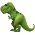 T-Rex Emoji Apple