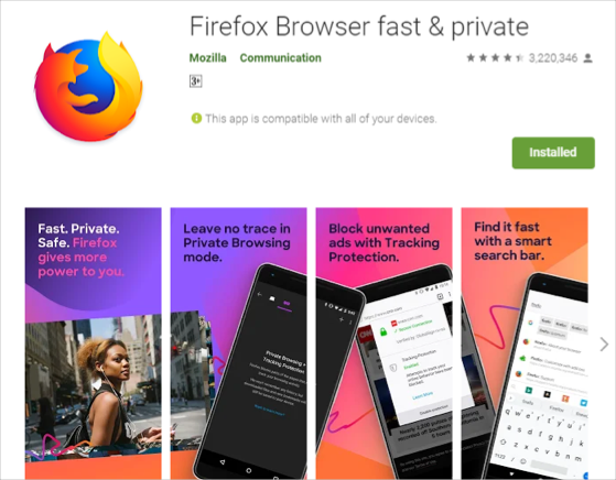 Classic Firefox for Android