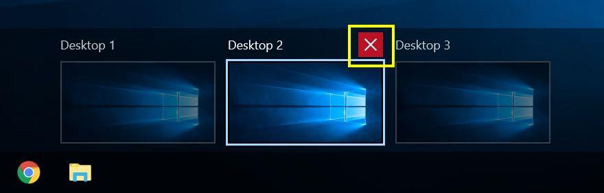 Closing Virtual Desktop