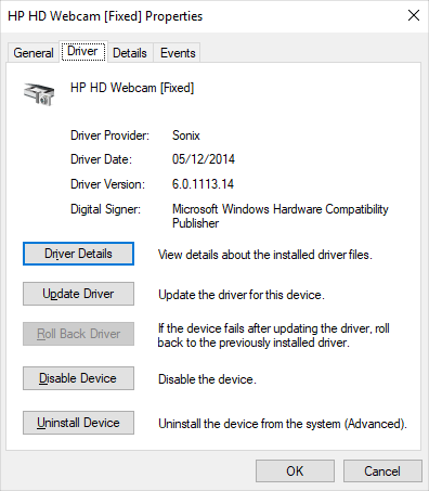 Open Driver Tab