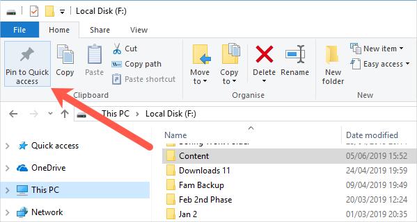 Pin Folder