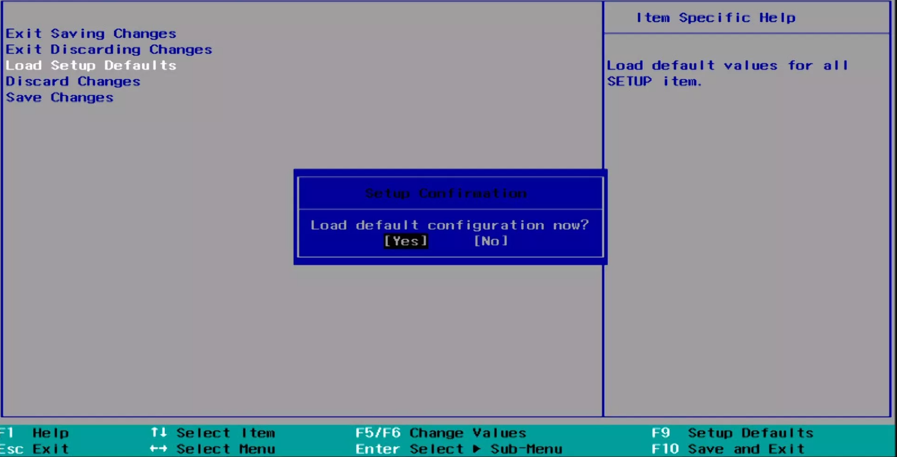 Reset BIOS