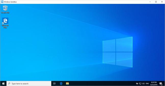 Sandbox Desktop