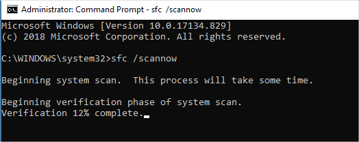 System Scan