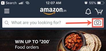 Amazon App Image Search
