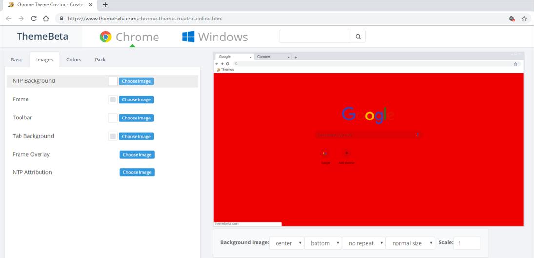 How to Create Google Chrome Theme? » WebNots